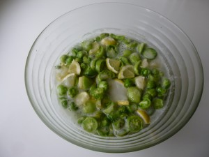confiture tomates vertes avant cuisson P1020442