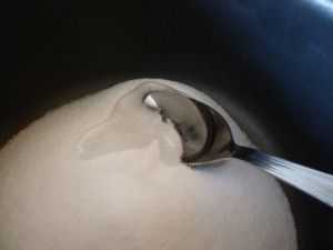 melange sucre sirop de glucose  P1030158