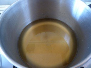 5 e cuisson du sirop de gaillet  P1050680